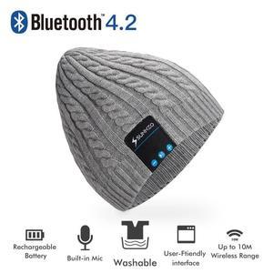 Bonnet avec casque Bluetooth 4.2 Sunnzo (Vendeur tiers)