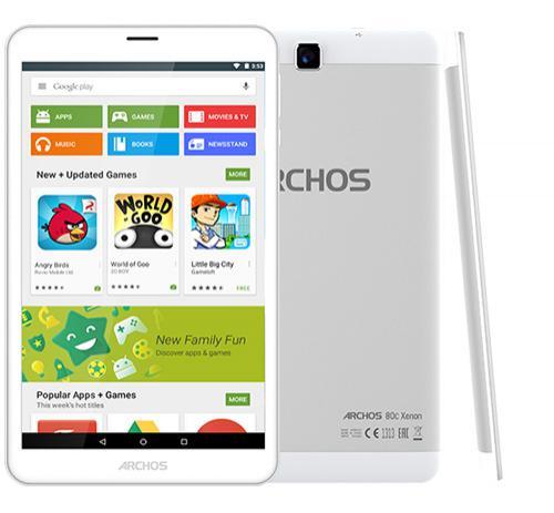 """Tablette 8"""" Archos 80c Xenon 16Go 3G"""