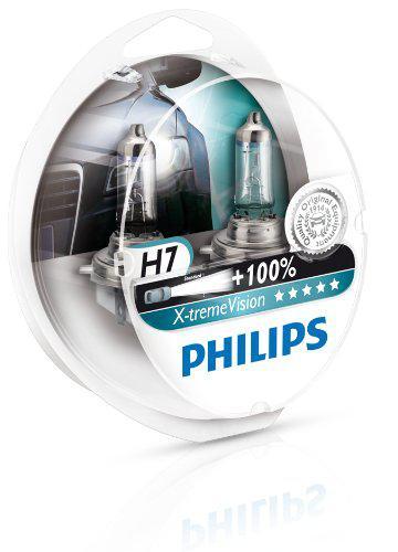 Sélection d'ampoules de phare Philips en promotion - Ex : Lot de 2 ampoules X-treme Vision H7