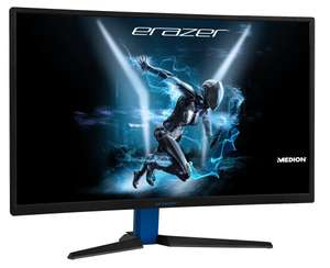 "Ecran PC 27"" Medion Erazer Gaming Curved - Full HD, 144 HZ, freesync, HDMI, DisplayPort, 4 ms, Inclinaison réglable Noir"