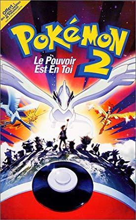 Film Pokémon 2 : Le pouvoir est en toi visionnable Gratuitement en Streaming (Dématérialisé)