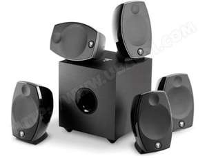 Pack d'enceintes Focal Home Cinema SIB EVO 5.1 - Noir