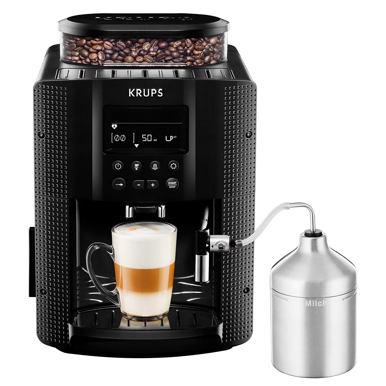 Machine à café grain automatique Krups EA8160 - 1.8L, 15bars