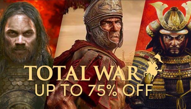 Jusqu'à 75% de réduction sur une sélection de jeux - Ex: TW Warhammer 2 sur PC (Dématérialisé - Steam)