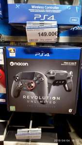 Manette Nacon Revolution Unlimited Pro - Compatible PS4/PC (Espace Culturel Vernon - 27)