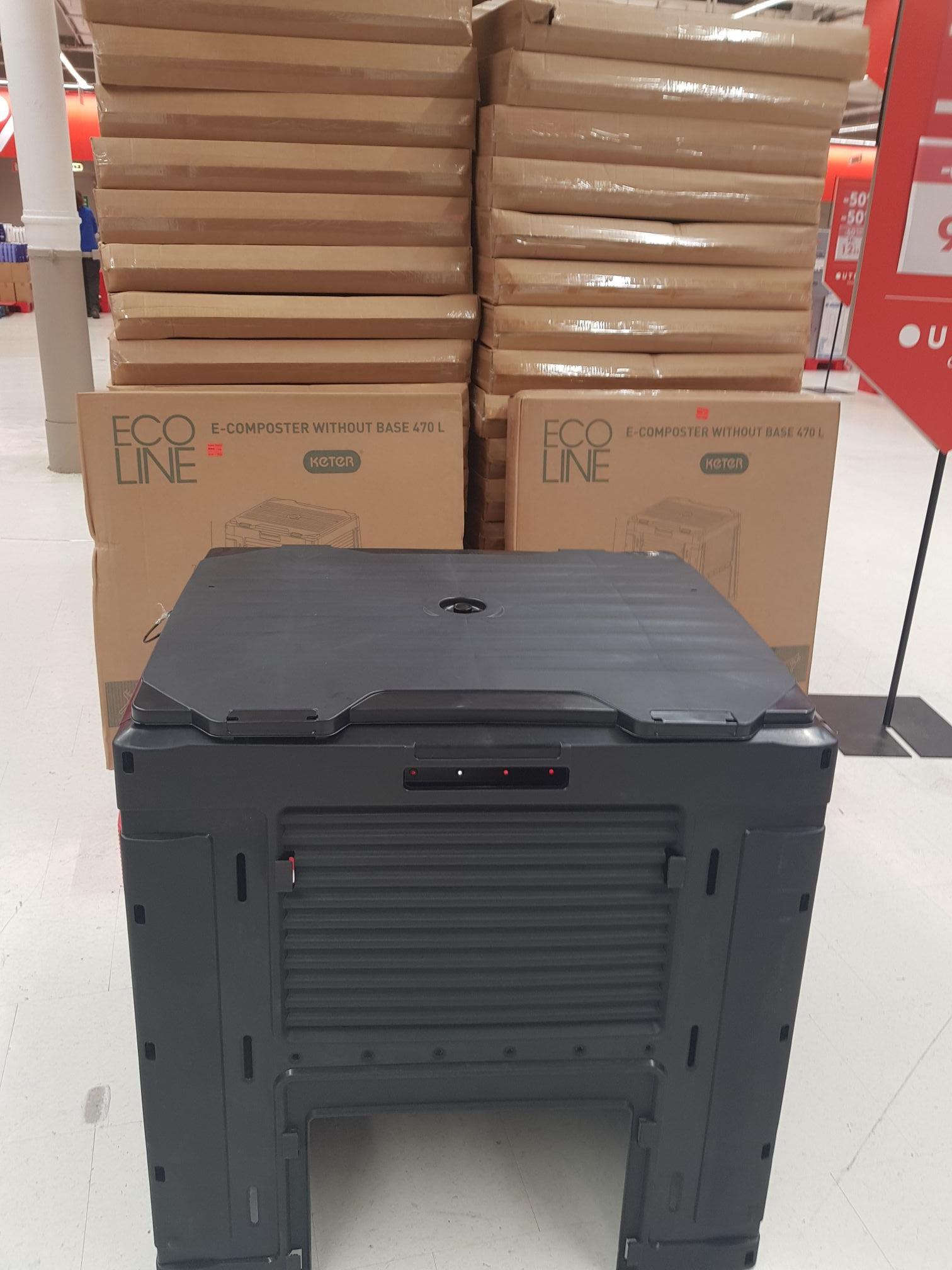 Composteur Keter 470L - Carrefour Evry (91)