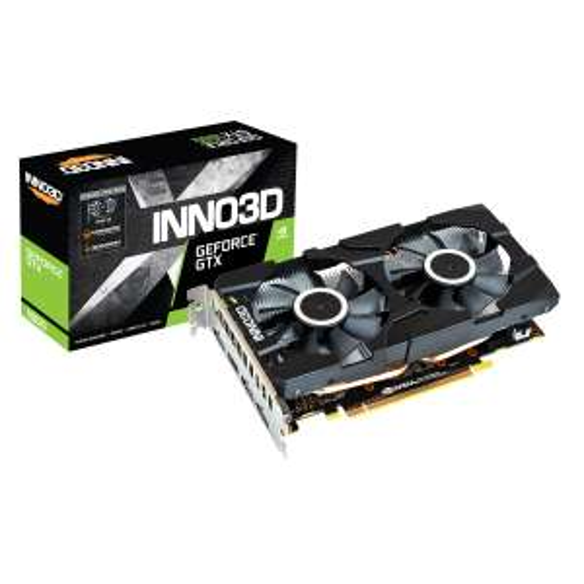 Carte graphique Inno3D GeForce GTX 1660 Twin X2 - 6 Go