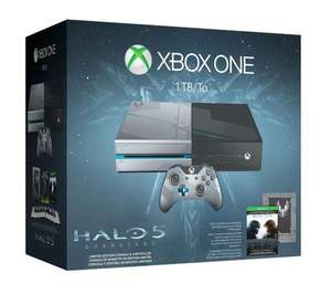 Précommande : Pack Collector console Xbox One 1 To + Halo 5 : Guardians