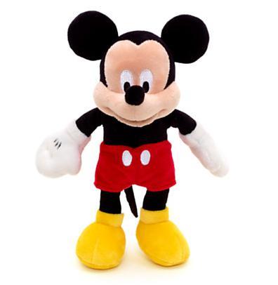 Une peluche Disney (taille moyenne) achetée = Une deuxième à 1€ - Ex : Mickey + Minnie