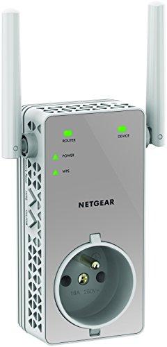 Répéteur Wi-Fi Netgear EX3800-100FRS - 750 Mbps, Blanc