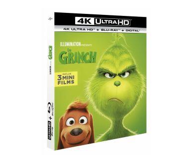 Bluray 4K Ultra HD Le Grinch (Blu-ray 4K Ultra HD + Blu-ray Full HD + Digital + 3 mini films)