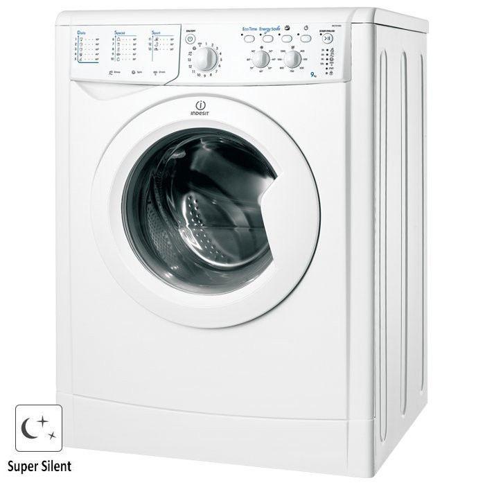 Lave Linge Frontal Indesit IWC 91082 Eco - 9 Kg (+ jusqu'à 2 bons d'achats de 30€)