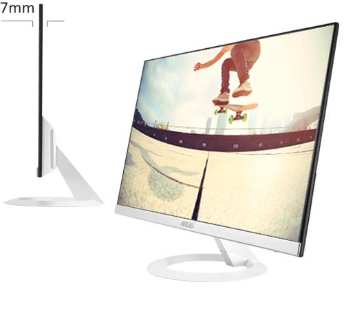 """Ecran PC 27"""" Asus VZ279HE - Full HD, IPS, 5 ms, 75 Hz, Blanc"""