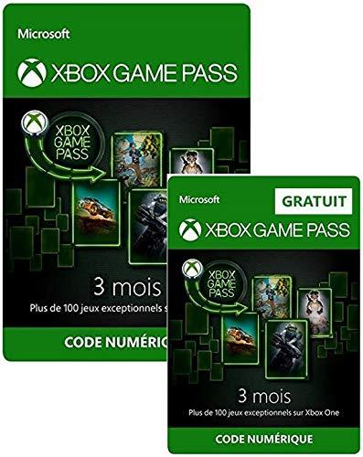 Code Abonnement Xbox Game Pass - 6 Mois (3 + 3 - Dématérialisé)