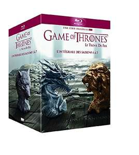 Coffret Blu-Ray Game of Thrones - L'intégrale des Saisons 1 à 7 (Import italien)