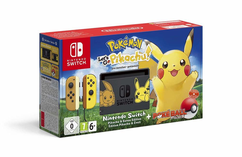 Console Nintendo Switch Edition Pikachu (Reconditionné - Très bon)