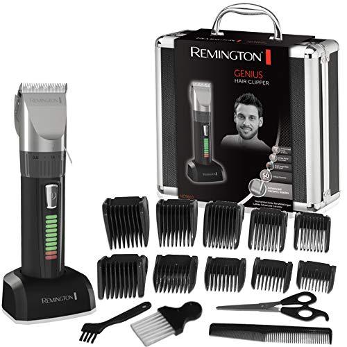 Coffret Tondeuse cheveux Remington HC5810 - 10 Sabots, Lames Auto-Affûtées