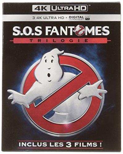 Blu-ray SOS Fantômes Trilogie (4K Ultra HD)