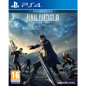 Final Fantasy XV Edition Day One sur PS4