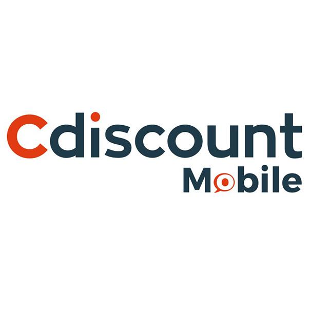 Forfait mensuel  Cdiscount Mobile : Appels/SMS/MMS illimités + 100 Go France en 4G & 5 Go Europe/DOM 3G+ (Sans engagement - Pendant 12 mois)