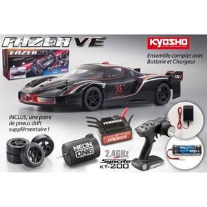 Voiture télécommandée Kyosho Fazer VE Ferrari FXX Evoluzione