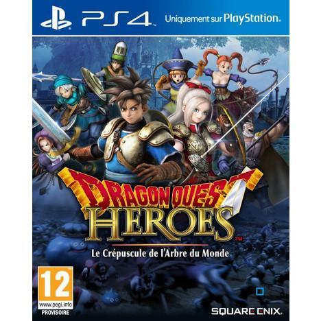 Précommande : Dragon Quest Heroes : Le Crépuscule de l'Arbre du Monde sur PS4