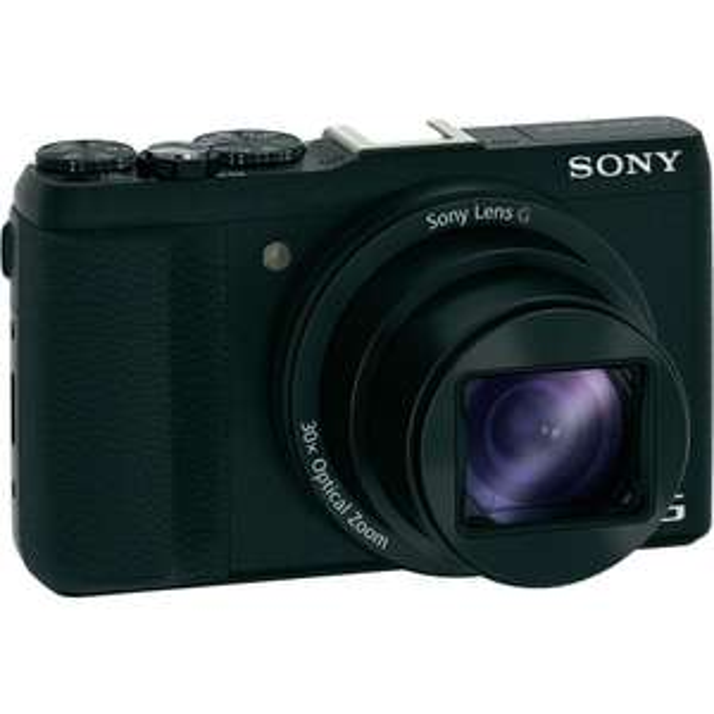 """Appareil photo Sony DSCHX60B - 3"""" - 20,4 Mpix - Zoom optique 30x - Wi-Fi / HDMI / USB"""