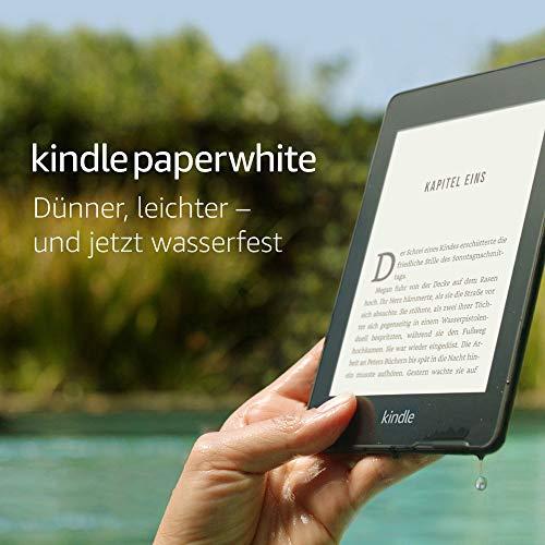Liseuse Kindle Paperwhite (2018) - 8 Go, Wi-Fi, sans publicités, étanche IPX8