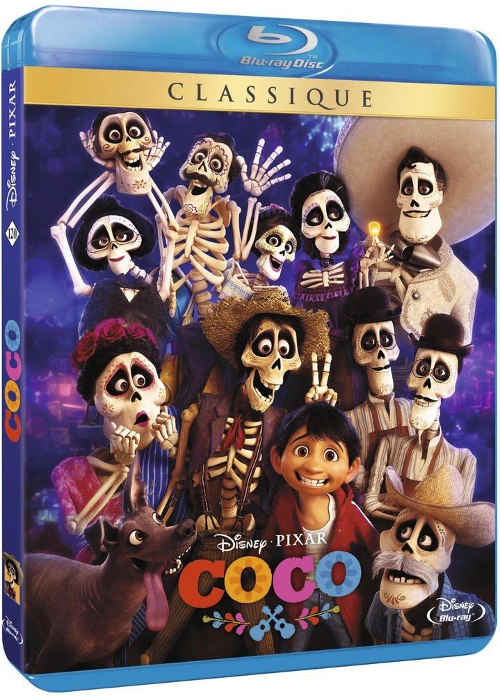 Jusqu'à 40% de réduction sur une sélection de Blu-ray et DVDs - Ex : Coco