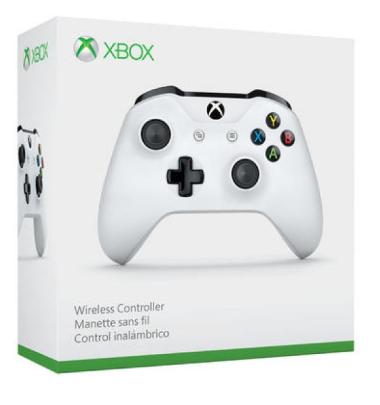 Manette sans-fil Xbox One (Blanc ou Noir) + Destiny 2 Renégats Edition légendaire + Crackdown 3 + Bonnet offert