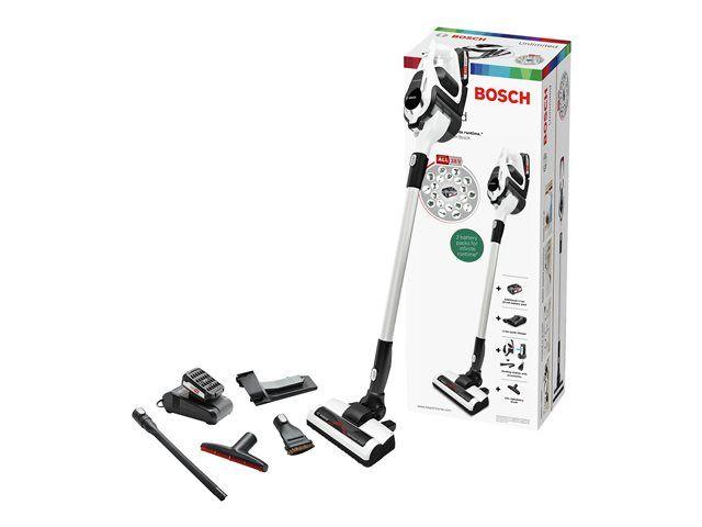 Aspirateur Balai Multifonction sans-fil Bosch Unlimited BBS1224 2400 W, 0,4 L, Blanc ( Via ODR 80€)