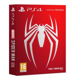 Marvel's Spider-Man édition spéciale sur PS4