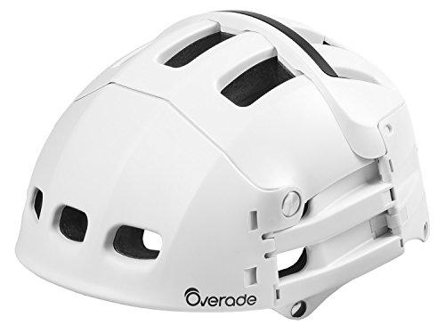 Casque pliable pour trottinette / vélo Overade Plixi - taille S/M, blanc