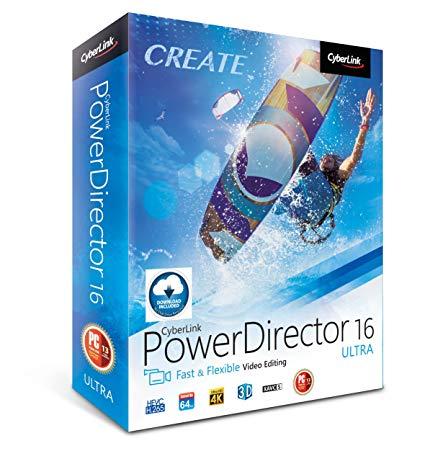 Logiciel CyberLink PowerDirector 16 Lite Edition Gratuit sur PC (Dématérialisé)
