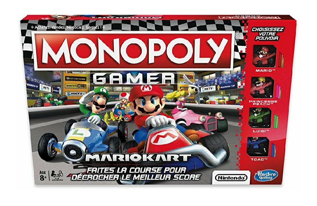 Jeu de société Monopoly Gamer Mario Kart (Version française)