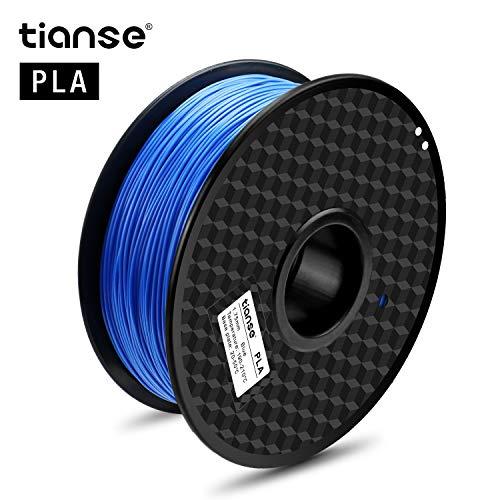 Bobine Filament PLA pour imprimante 3D Tianse -  1.75mm 1KG, Bleu (vendeur tiers)