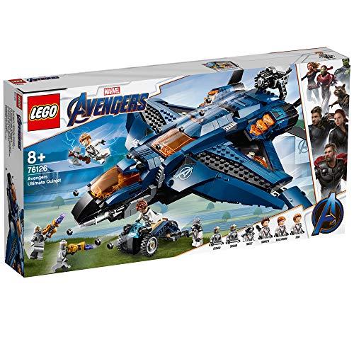 LEGO Marvel Super Heroes - Le Quinjet des Avengers - 76126