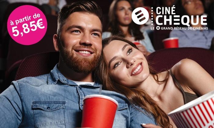 1 place de cinéma CinéChèque valable jusqu'au 30 juin 2019 (hors séance 3D)
