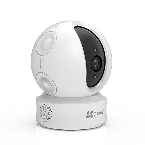 Caméra de surveillance motorisée sur IP Ezviz EZ360 - 720p, vision nocturne, audio bi-directionnel