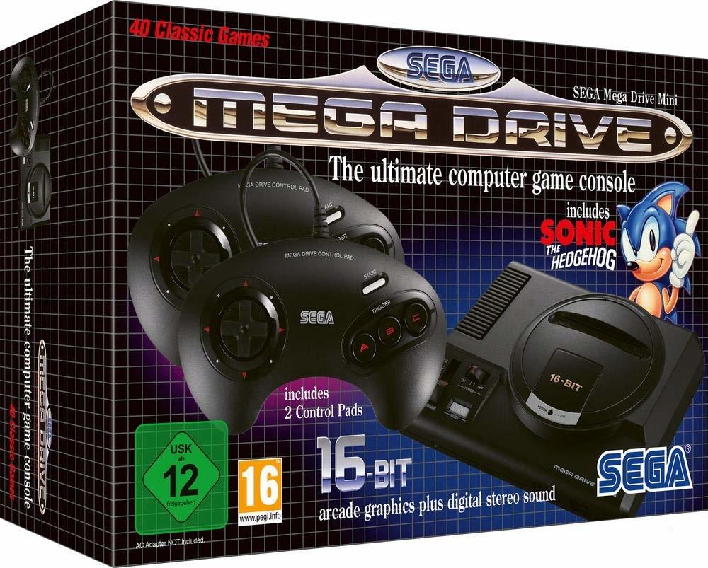 [Pré-commande] Console Sega Mega Drive Mini + porte-clés offert - SegaShop.eu