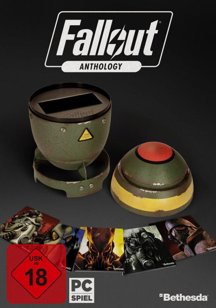 Coffret Fallout Anthology l'intégrale sur PC