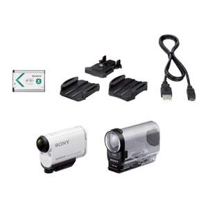Caméra sportive Sony HDR-AS200V Full HD Blanche (Stabilisateur numérique, GPS, Wifi/NFC, 50Mb/s)