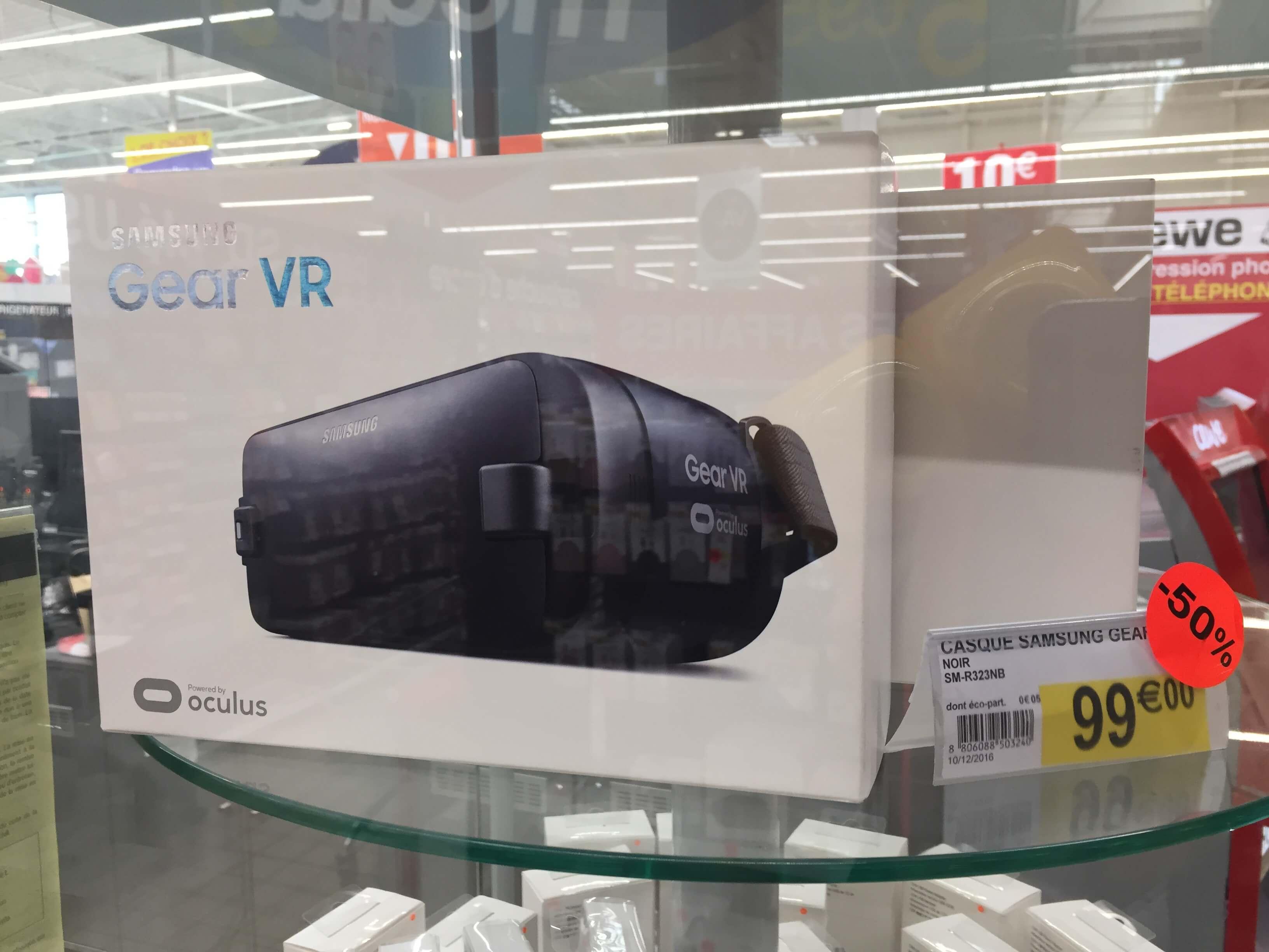 Casque de réalité augmentée Oculus Gear VR Samsung - Caen (14)