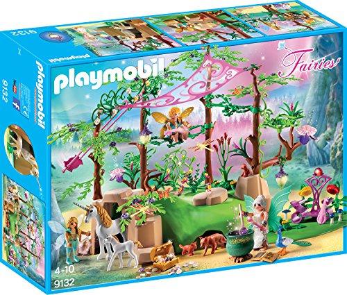 Jeu de construction Playmobil Forêt enchantée (9132)