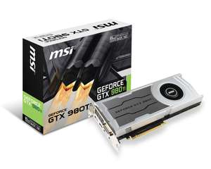 Carte Graphique MSI GeForce GTX 980TI 6GD5 V1 + Rainbow Six Siege ou Assassin's Creed Syndicate sur PC