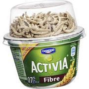 Yaourt Activia Fibre Danone (via 0.77€ sur carte de fidélité + 0.30€ BDR)