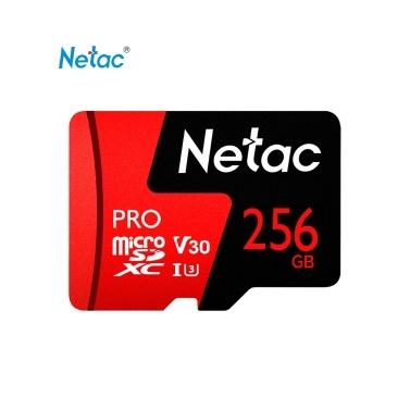 Carte microSDXC Netac UHS-I V30 U3 - 256 Go