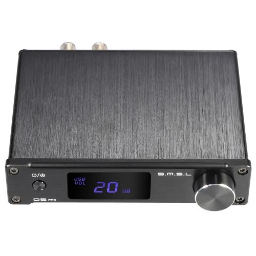 Amplificateur classe D Stéréo Full Digital S.M.S.L Q5 Pro - 2x 25W (8 Ohm), 2x 45W (4 Ohm)