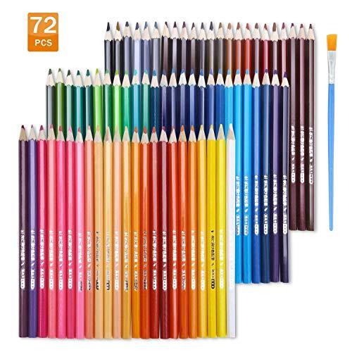 Lot de 72 crayons de couleur aquarelle Topersun (vendeur tiers)