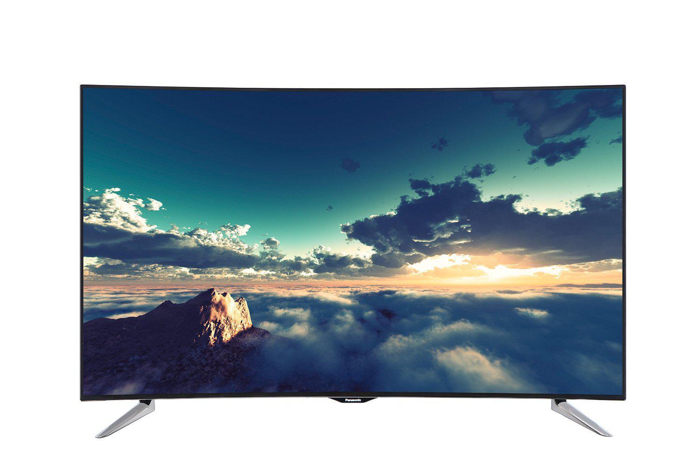 """TV 55"""" Panasonic TX-55CRW434 - 4K LED 3D, Incurvée"""